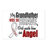Angel 1 GRANDFATHER Lung Cancer Postcards (Package
