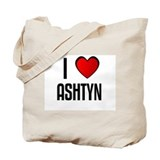 I LOVE ASHTYN Tote Bag
