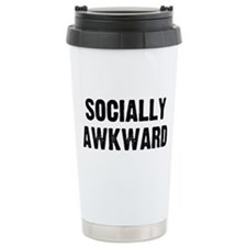 Sociallly Awkward Ceramic Travel Mug