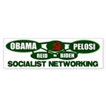 Socialist Networking Bumper Sticker