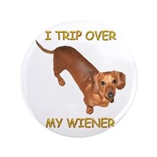 "Trip Wiener 3.5"" Button"