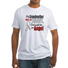 Angel 1 GRANDMOTHER Lung Cancer Shirt