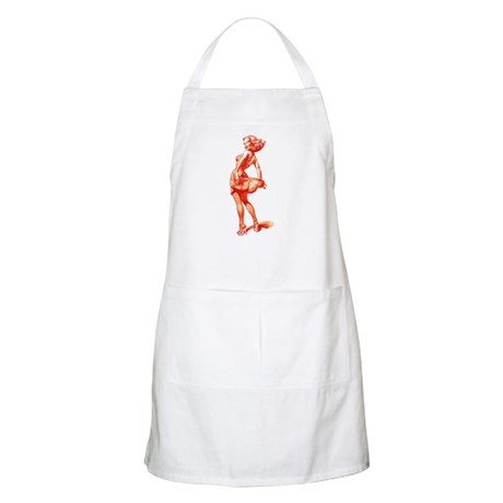 Vintage Pin Up Girl BBQ Apron
