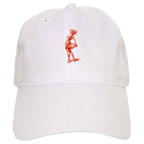 Vintage Pin Up Girl Cap