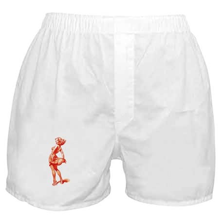 Vintage Pin Up Girl Boxer Shorts