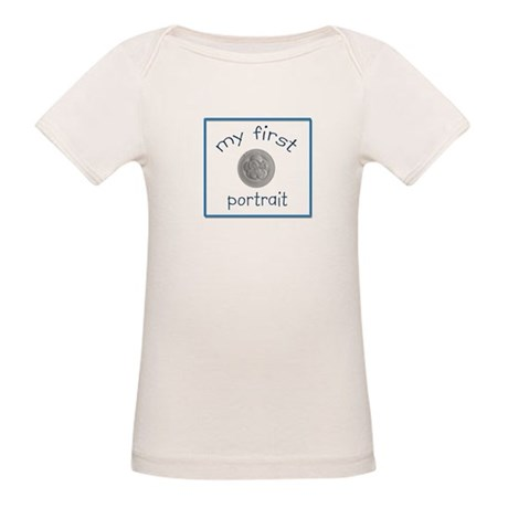 Baby's First Portrait/Photo ( Organic Baby T-Shirt