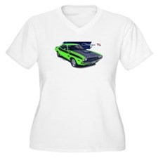 Dodge Challenger Green Car T-Shirt