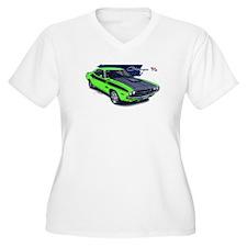 Dodge Challenger Green Car T-Shirt