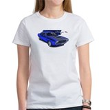 Dodge Challenger Blue Car Tee