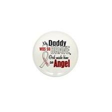 Angel 1 DADDY Lung Cancer Mini Button (10 pack)