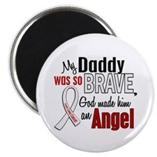 Angel 1 DADDY Lung Cancer Magnet