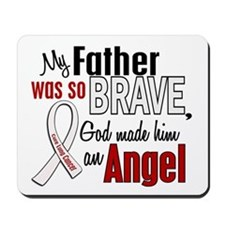 Angel 1 FATHER Lung Cancer Mousepad