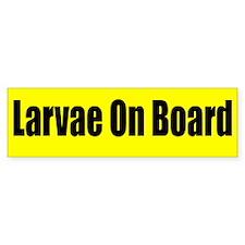 """Larvae On Board"" Bumper Sticker 10-pack"