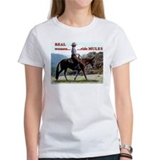 Real Women Ride Mules Tee