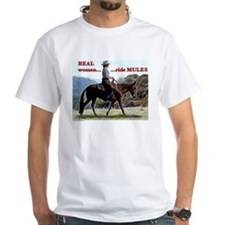 Real Women Ride Mules Shirt