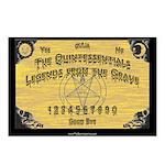The Quintessentials ouija board postcard