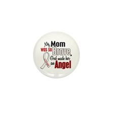 Angel 1 MOM Lung Cancer Mini Button (10 pack)