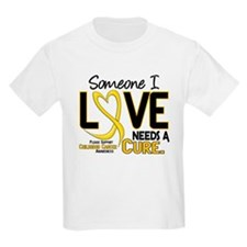 Needs A Cure 2 CHILD CANCER T-Shirt