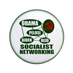 Socialist Networking 3.5&quot; Button