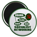 Socialist Networking 2.25&quot; Magnet (100 pack)