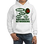 Socialist Networking Hooded Sweatshirt