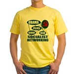 Socialist Networking Yellow T-Shirt