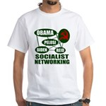 Socialist Networking White T-Shirt