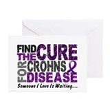 Find The Cure 1 CROHNS Greeting Cards (Pk of 10)