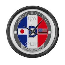 Datsun Roadster 1600 Large Wall Clock