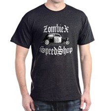 ZombieX Speedshop Tudor Black T-Shirt
