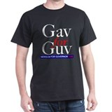 Gav for Guv Black T-Shirt