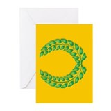 Gold Greeting Cards (Pk of 10)