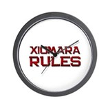 xiomara rules Wall Clock