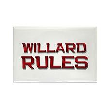 willard rules Rectangle Magnet (10 pack)