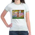 Garden / R Ridgeback Jr. Ringer T-Shirt