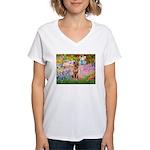 Garden / R Ridgeback Women's V-Neck T-Shirt
