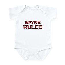 wayne rules Infant Bodysuit