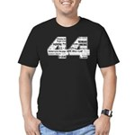44: Obama Inauguration Headli Men's Fitted T-Shirt