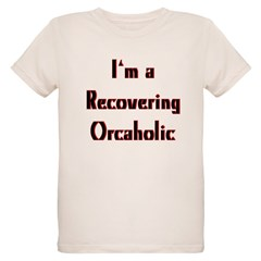 Recovering Orcaholic Organic Kids T-Shirt