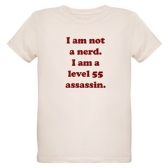 Not Nerd Assassin Organic Kids T-Shirt