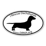 DRNA (SMOOTH) Bumper Stickers