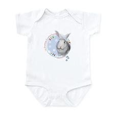Unique White rabbit Infant Bodysuit
