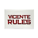vicente rules Rectangle Magnet (10 pack)