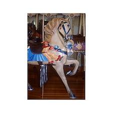 Clown Horse Rectangle Magnet (100 pack)
