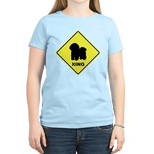 Bichon Frise Crossing T-Shirt