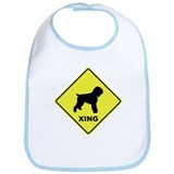 Black Terrier Crossing Bib