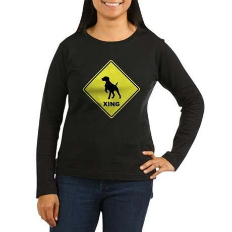 GSP Crossing Women's Long Sleeve Dark T-Shirt