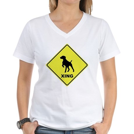 GSP Crossing Women's V-Neck T-Shirt