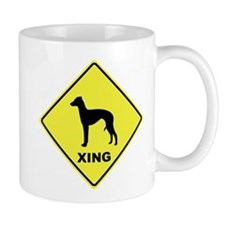 Italian Greyhound Crossing Mug