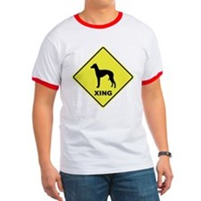 Italian Greyhound Crossing T